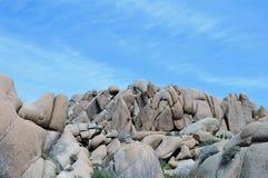 Formazione rocciosa di Rangled Immagine Stock