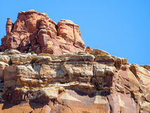 Formazione rocciosa di Sculped Fotografia Stock