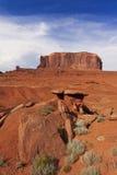 Formazione rocciosa enorme in valle del monumento Fotografia Stock