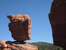 Formazione rocciosa equilibrata, Colorado Fotografia Stock Libera da Diritti