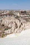 Formazione rocciosa in Göreme Fotografie Stock