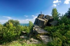 Formazione rocciosa - la Sfinge Fotografie Stock