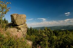 Formazione rocciosa - la Sfinge Fotografia Stock Libera da Diritti