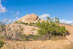 Formazione rocciosa in Mojave Immagine Stock