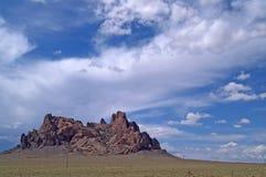 Formazione rocciosa nel New Mexico Immagini Stock