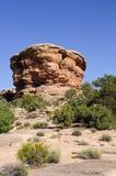 Formazione rocciosa rossa Immagini Stock