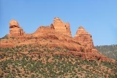 Formazione rocciosa rossa in Sedona Arizona Fotografia Stock Libera da Diritti
