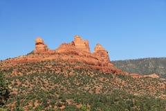 Formazione rocciosa rossa in Sedona Arizona Fotografie Stock Libere da Diritti