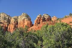 Formazione rocciosa rossa in Sedona Arizona Immagine Stock Libera da Diritti