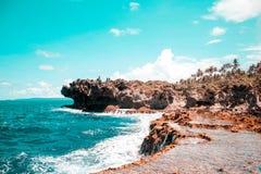 Formazione rocciosa stupefacente in Canhugas fotografie stock