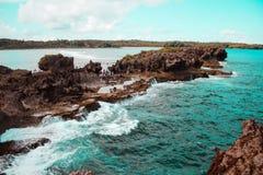 Formazione rocciosa stupefacente in Canhugas fotografia stock