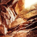 Formazione rocciosa unica Fotografie Stock