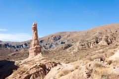 Formazione rocciosa vicino a Tupiza, Bolivia fotografia stock libera da diritti