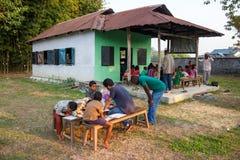 Formazione rurale in India Immagini Stock Libere da Diritti