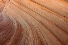 Formazioni dell'arenaria trovate lungo il bordo della strada immagini stock libere da diritti
