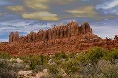 Formazioni della Castle Rock Fotografie Stock