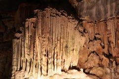 Formazioni della caverna del calcare Immagine Stock