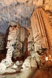 Formazioni della caverna del calcare Fotografia Stock Libera da Diritti