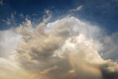 Formazioni della nube Immagini Stock Libere da Diritti