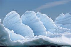 Formazioni di ghiaccio Fotografie Stock Libere da Diritti