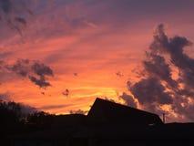 Formazioni di nuvole e di bei colori Immagini Stock Libere da Diritti