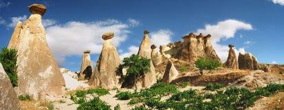 Formazioni di pietra Immagine Stock