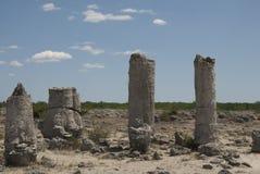 Formazioni e sabbia di Rck Fotografie Stock