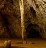 Formazioni geologiche in caverna di Phraya Nakhon thailand fotografia stock libera da diritti