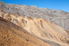 Formazioni geologiche sul lavoro Fotografia Stock Libera da Diritti