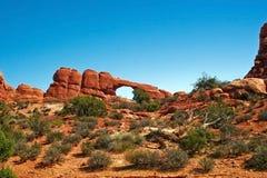 Formazioni rocciose fotografie stock