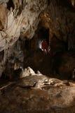 Formazioni rocciose all'interno di una caverna Immagine Stock