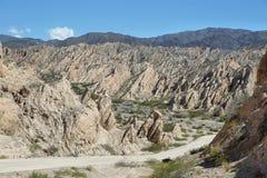 Formazioni rocciose curiose di Fotografia Stock Libera da Diritti