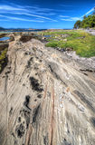 Formazioni rocciose dell'arenaria, isola del cavolo Fotografie Stock
