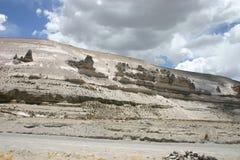 Formazioni rocciose della montagna Fotografia Stock