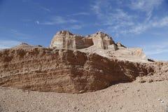Formazioni rocciose della valle della luna Immagini Stock Libere da Diritti