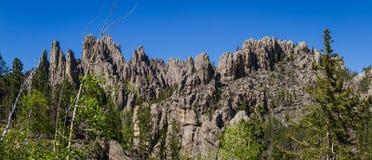 Formazioni rocciose di Black Hills immagine stock libera da diritti