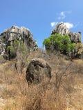 Formazioni rocciose di entroterra Fotografia Stock