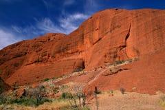 Formazioni rocciose di Kata Tjuta, Australia fotografia stock