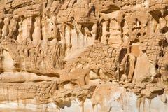 Formazioni rocciose esposte all'aria Fotografia Stock Libera da Diritti