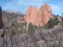 Formazioni rocciose fotografia stock