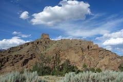 Formazioni rocciose insolite nel Wyoming Fotografia Stock