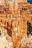 Formazioni rocciose maestose a Bryce Canyon N P Immagine Stock