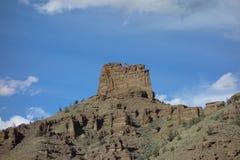 Formazioni rocciose nel Wyoming Fotografia Stock