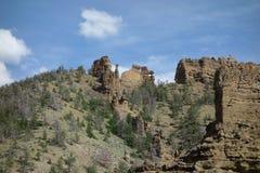 Formazioni rocciose nel Wyoming Fotografia Stock Libera da Diritti