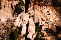 Formazioni rocciose Paisaje lunare Fotografia Stock Libera da Diritti