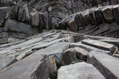 Formazioni rocciose rosse e bianche Fotografia Stock Libera da Diritti