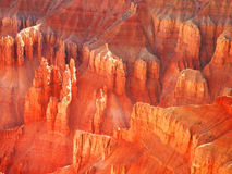 Formazioni rocciose variopinte Fotografie Stock Libere da Diritti