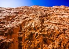 Formazioni sceniche dell'arenaria di arché parco nazionale, Utah, U.S.A. Immagini Stock Libere da Diritti