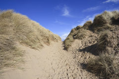 Formby Sands Royalty Free Stock Images
