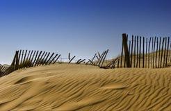 Formby sands beach scene Royalty Free Stock Photos